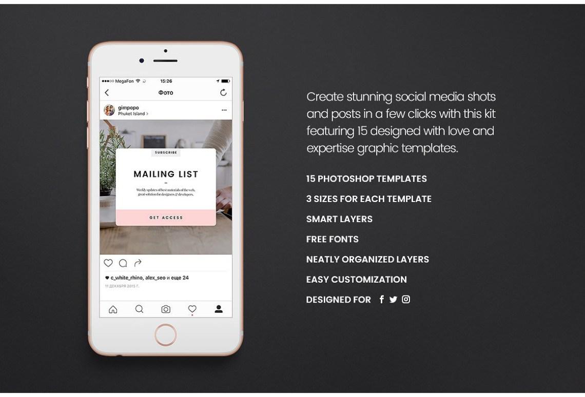 Download Mobile Mockup Social Media Yellow Images