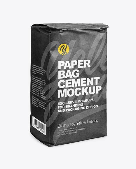 779+ cement bag mockup psd find & Kraft Paper Cement Bag Mockup In Bag Sack Mockups On Yellow Images Object Mockups