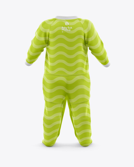 Download Baby Suit Mockup Front View Yellowimages