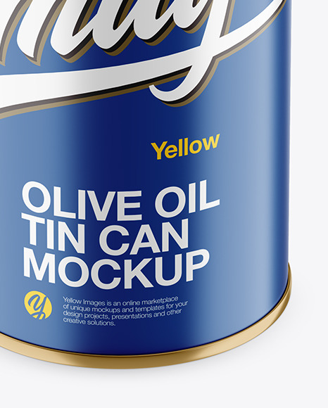 Download 05l Glossy Olive Oil Tin Can Mockup Yellowimages