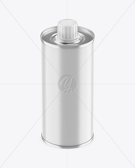 Download 05l Matte Olive Oil Tin Can Psd Mockup Yellowimages