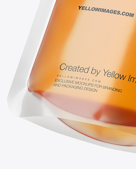 Download Doy Pack With Honey Psd Mockup Yellowimages