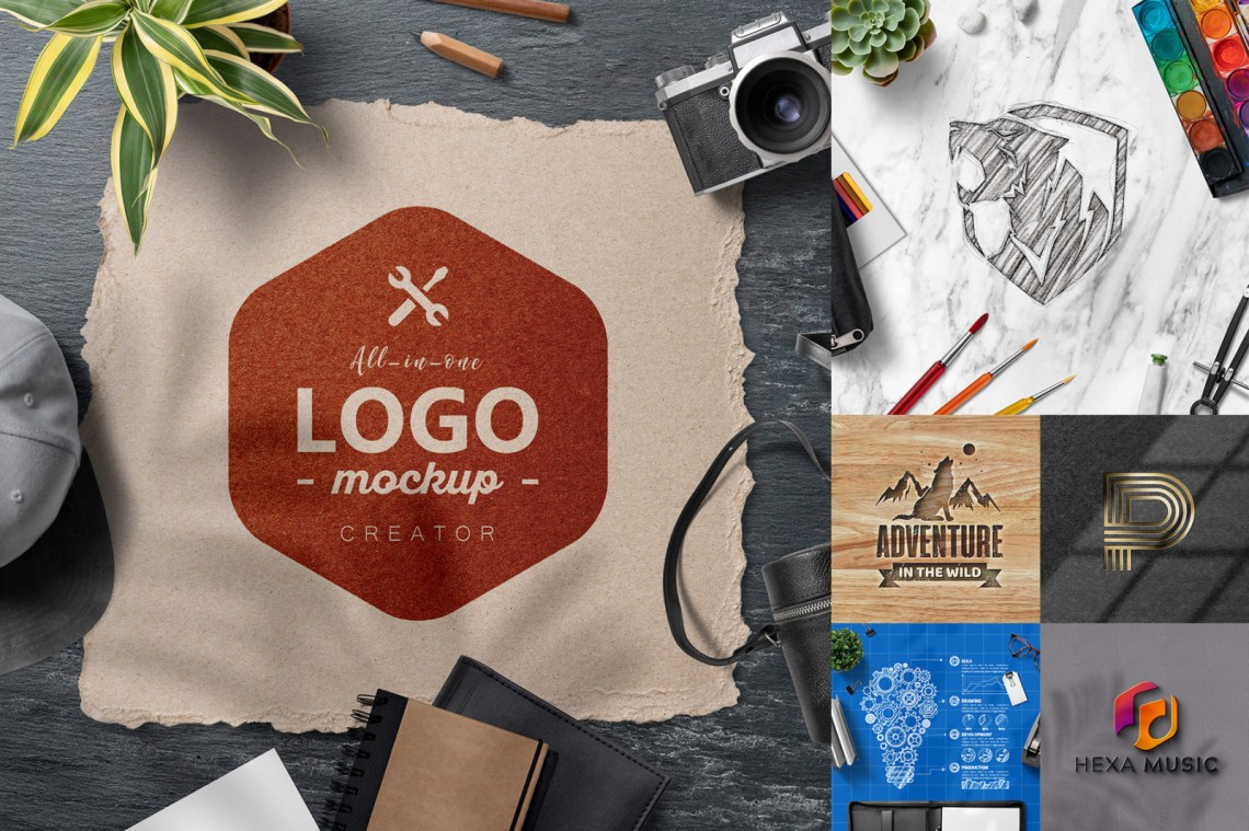 Download Photorealistic 3d Logo Mockup V3 Yellowimages