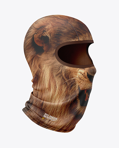 Download Balaclava Mockup Front View Yellowimages