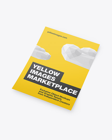 Download Logo On Paper Mockup Psd Yellowimages