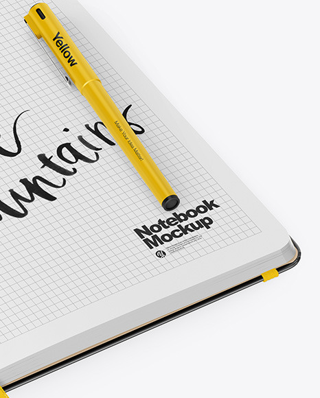 Download Pencil Logo Sketch Mockup Yellowimages