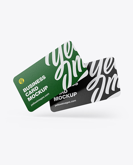 Download Square Business Card Mockup Yellowimages