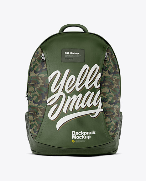 Download Backpack Mockup Psd Yellowimages