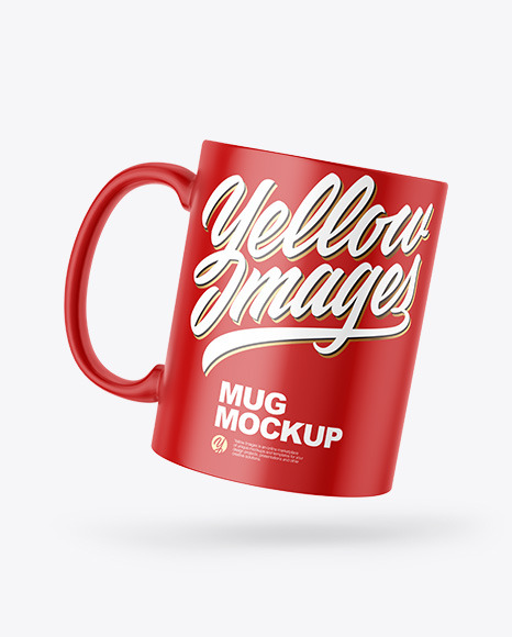 Download White Coffee Mug Mockup Yellow Images