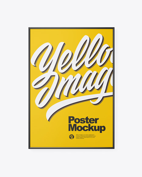 Download Mock Up Poster Frame Yellowimages