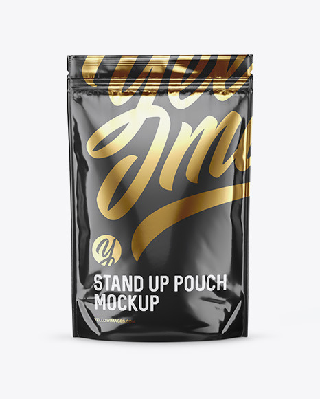 Download Energy Drink Glossy Sachet Psd Mockup Yellowimages