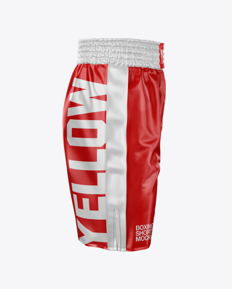 Download Boxing Shorts Mockup Front View Yellowimages