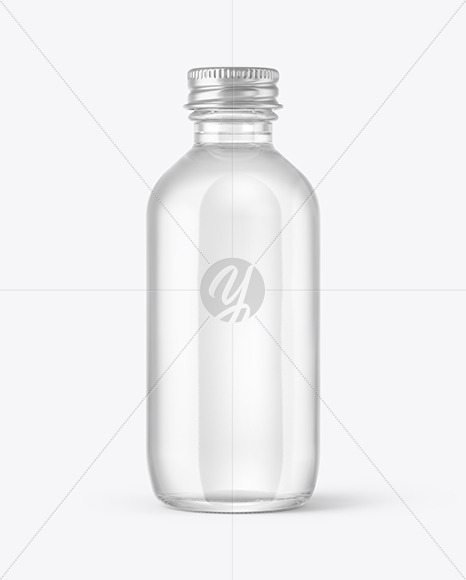 Download Clear Glass Yellow Drink Bottle Psd Mockup Yellowimages