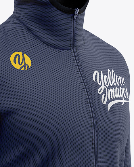 Download Basketball Full Zip Hoodie Mockup Front View Of Hooded Jacket Yellowimages