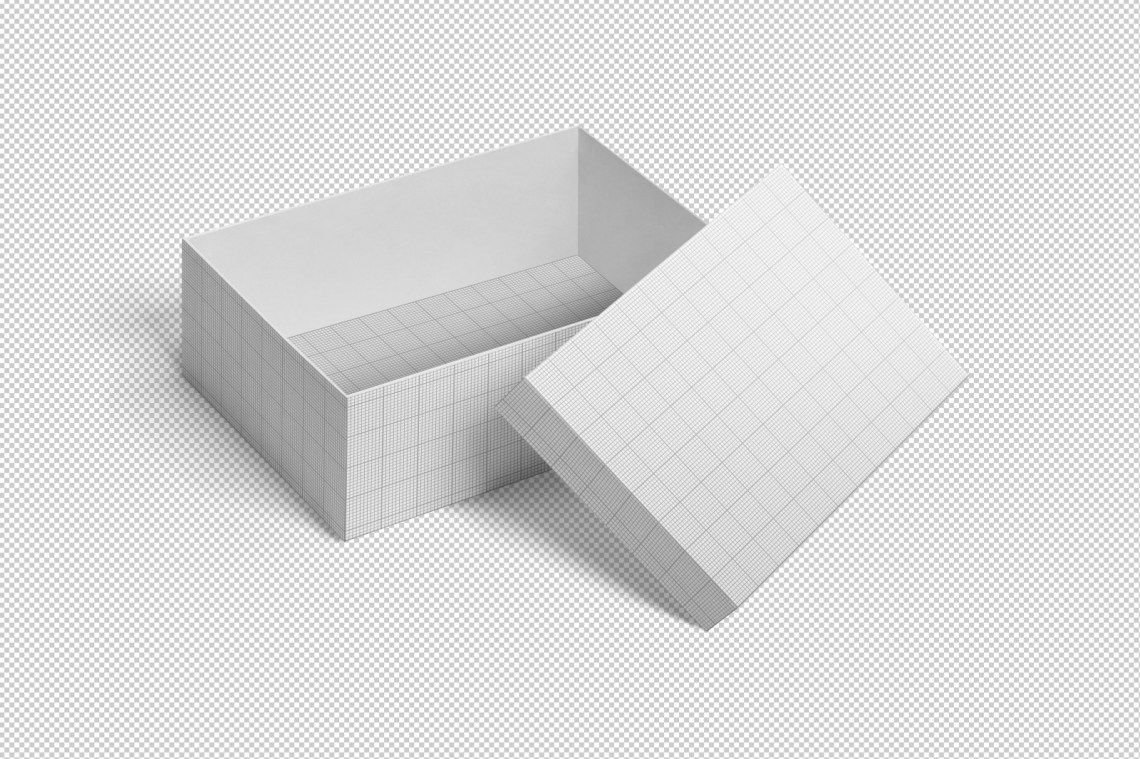 Download Square Shoe Box Mockup Free Yellowimages