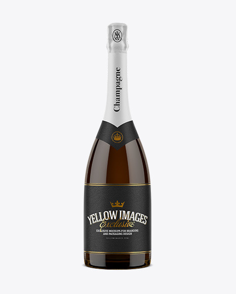 Download Champagne Bottle Mockup Psd Free Yellowimages