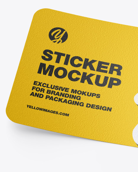 Download Circle Sticker Mockup Psd Free Yellowimages