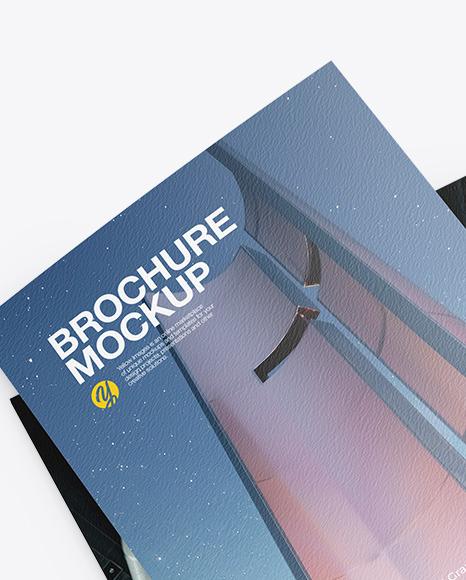 Free a4 landscape horizontal brochure. Download A4 Landscape Brochure Mockup Free Download Psd