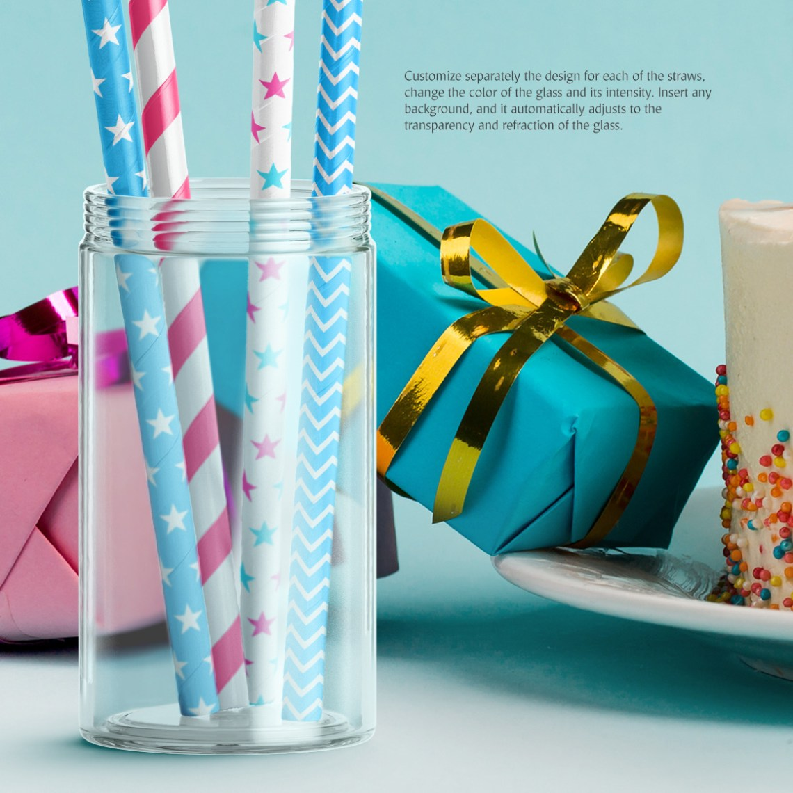 Download Gift Wrapping Paper Mockup Set Yellowimages