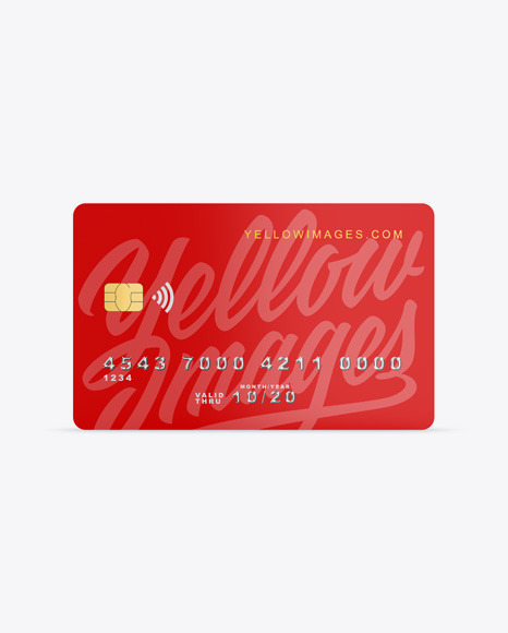 Download Free Card Mockup Yellowimages