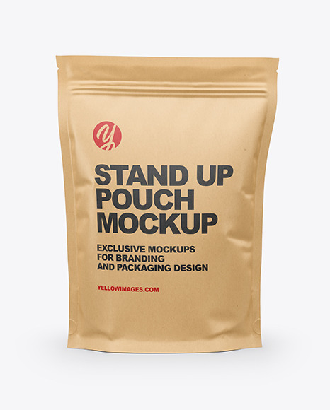 Download Packaging Pouch Mockup Yellowimages