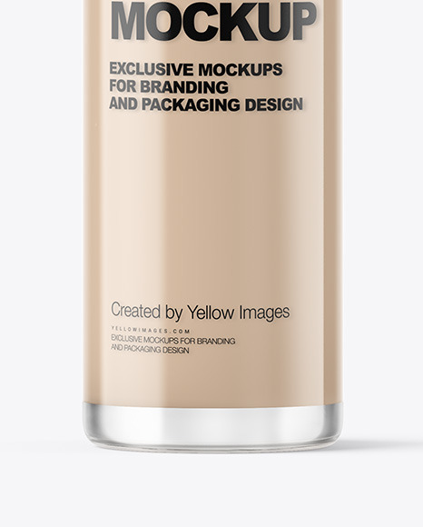 Download Cosmetic Packaging Mockups Yellow Images