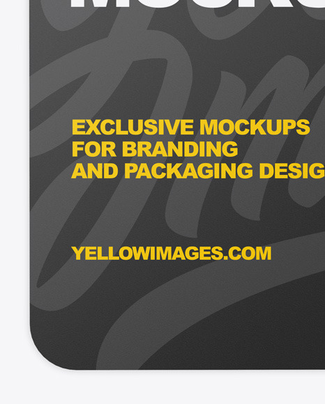 Download Free Card Mockup Yellow Images