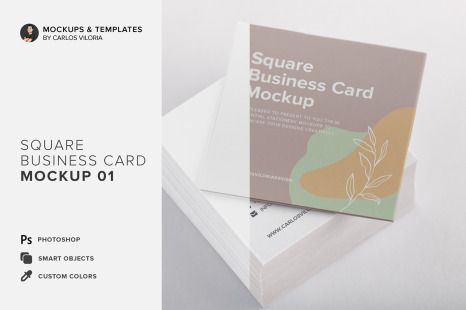 Download Square Booklet Psd Mockup Yellow Images