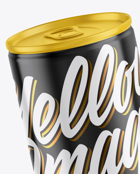 Download 250ml Matte Olive Oil Tin Can Psd Mockup Yellowimages