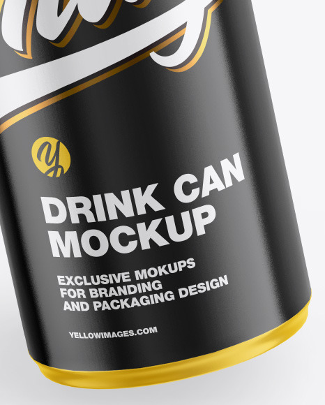 Download 250ml Matte Olive Oil Tin Can Psd Mockup Yellow Images
