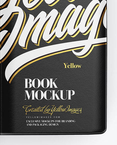 Download Open Book Psd Mockup Yellow Images