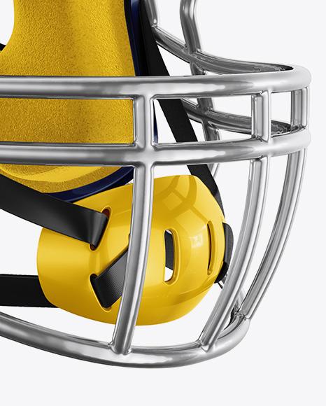 Download American Football Helmet Mockup Side View Yellowimages