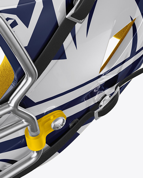 Download American Football Helmet Mockup Back View Yellowimages