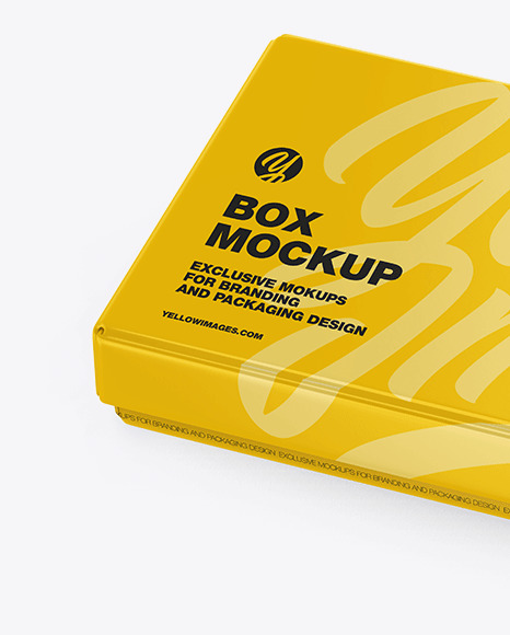 Download Black Box Mockup Free Yellow Images