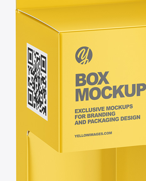 Download White Box Packaging Mockup Yellowimages