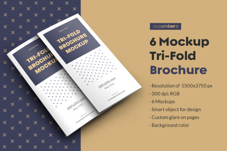 Download Realistic Brochure Mockup Yellowimages