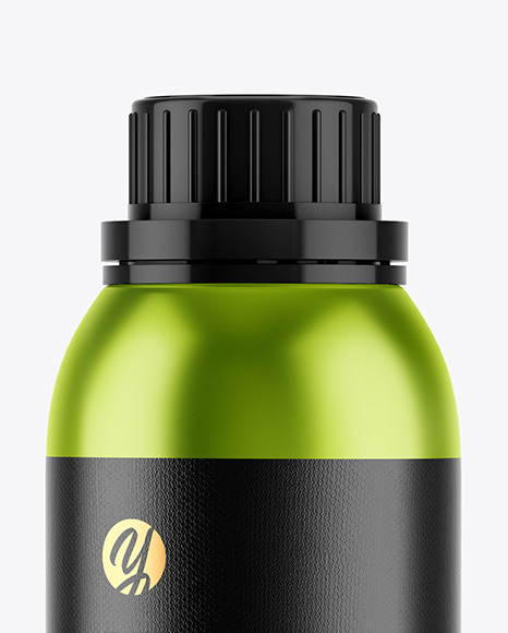 Download Metallic Dropper Bottle Kraft Box Psd Mockup Yellowimages