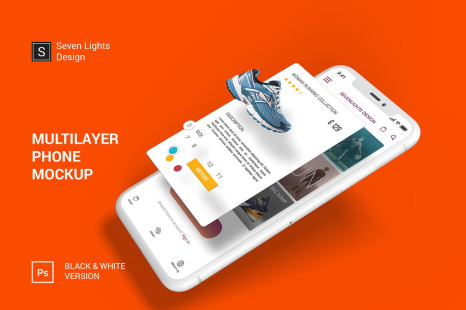 Download Phone In Hand Mockup Psd Yellowimages