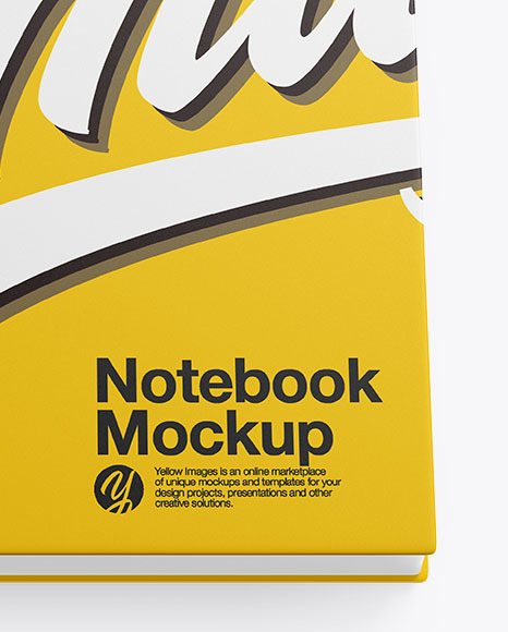 Download Open Book Mockup Generator Yellow Images