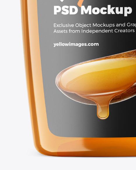 Download Honey Jar Psd Mockup Yellowimages