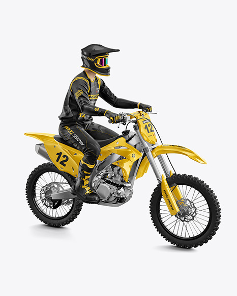 Download Mockup Jersey Motocross Psd