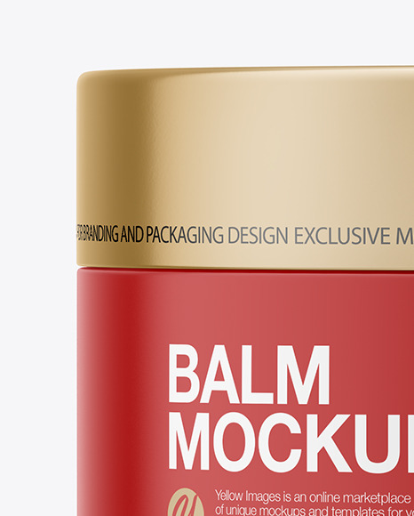 Download Opened Matte Lip Balm Psd Mockup Yellowimages