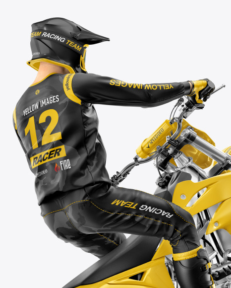 Download Download Motocross Jersey Mockup Psd Free Yellowimages ...
