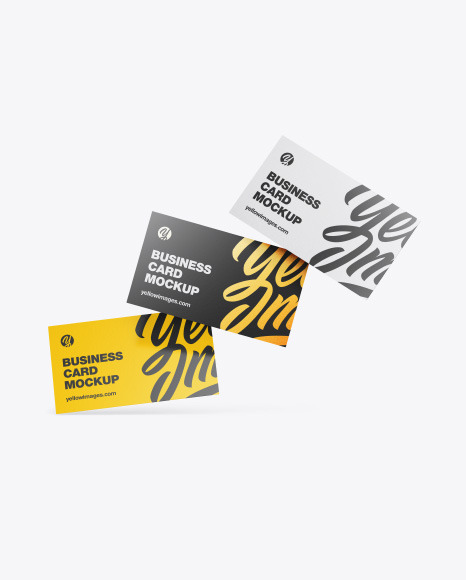 Download Paper Box Business Cards Psd Mockup Yellowimages