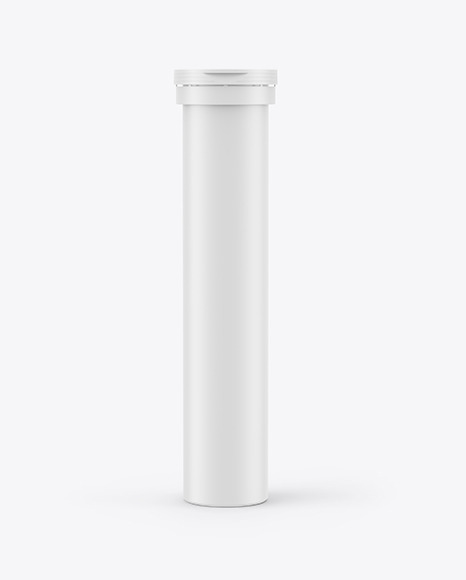 Download Glossy Plastic Tube With Tablets Psd Mockup Yellowimages