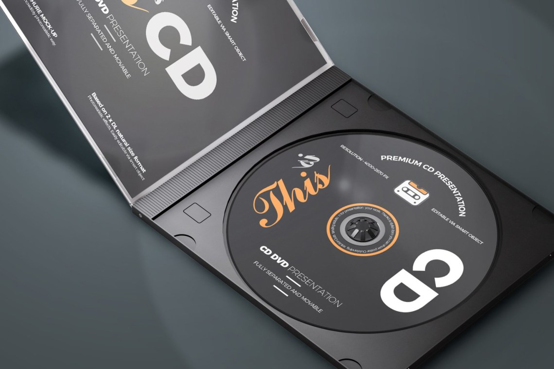 Download Cd Box Set Mockup Yellow Images