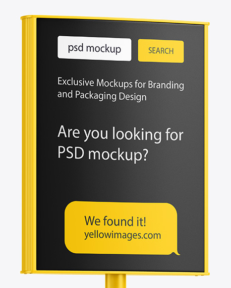 Download Realistic Logo Mockup Psd Free Yellowimages