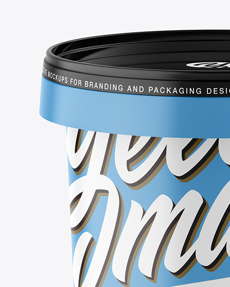 Download Glossy Paint Cans Psd Mockup Yellowimages