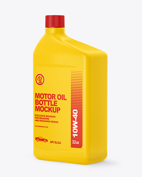 Download Plastic Oil Bottle Mockup Free Yellowimages