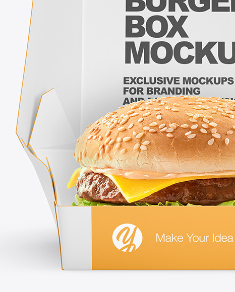 Download 25+ Burger Box Mockup Free Download Yellowimages - Free ...